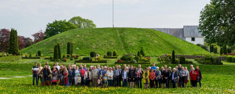 Gorms store familiefoto 2018 - Foto Kongernes Jelling