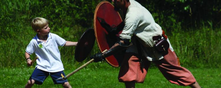 Ribe VikingeCenter - Krigertræning