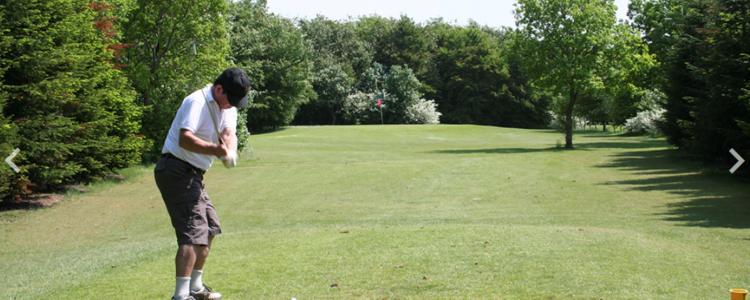 billede fra par tre banen i holsted golfklub